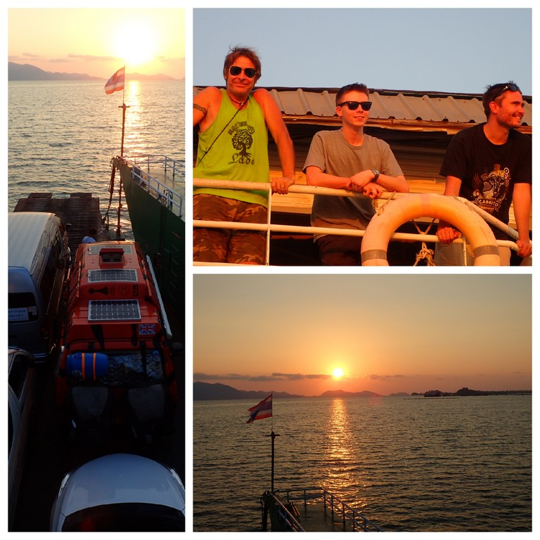 Agetting to Koh Chang
